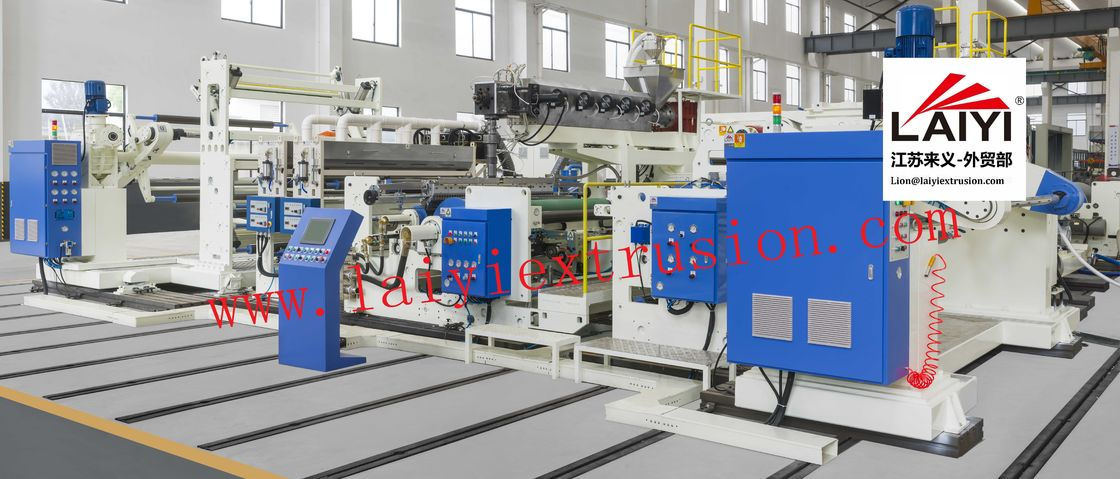 Roller To Roller Paper Laminating Machine Mechanical Driven Type 380V