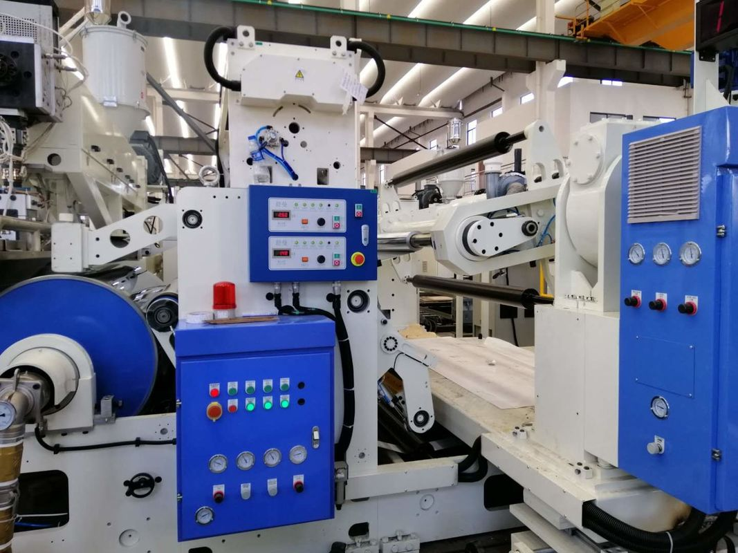 Fully Automatic Paper Laminating Machine 300-350m/Min With Slitting